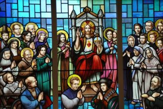 "What does the Catholic Church actually say about ""praying to the saints?""…"