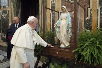 At Sunday Angelus, Pope Francis invokes 'the Immaculate Virgin, Patroness of the United States' to intercede after Capitol violence …