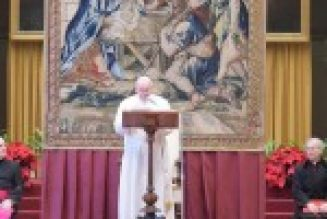 Deciphering the Pope's speech to the Roman Curia…