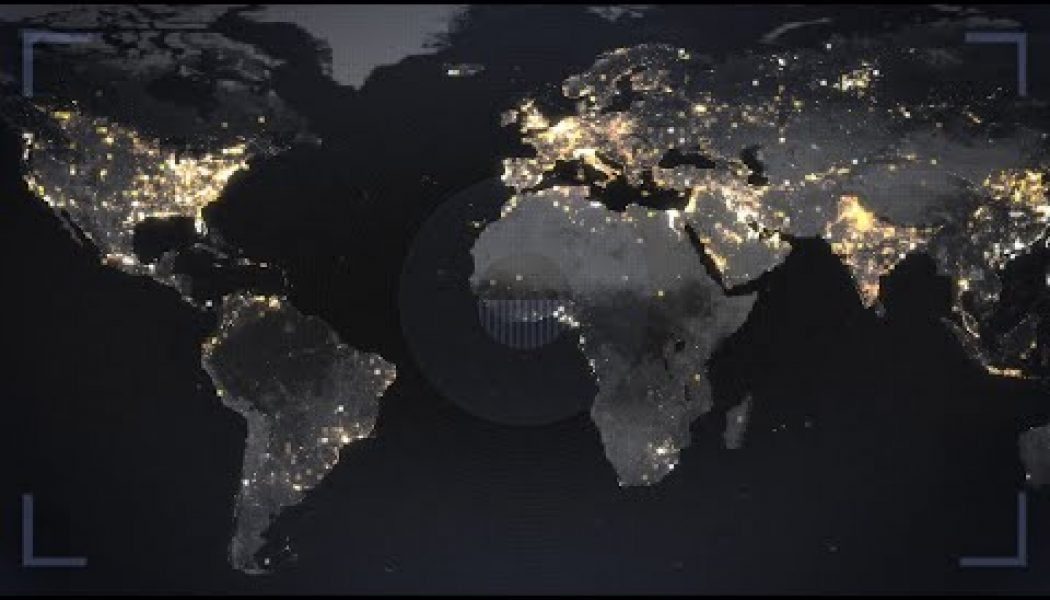 How one NASA satellite image of the earth at night tells dozens of stories…