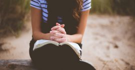 How to Pray and Leave Your Burdens at Jesus' Feet
