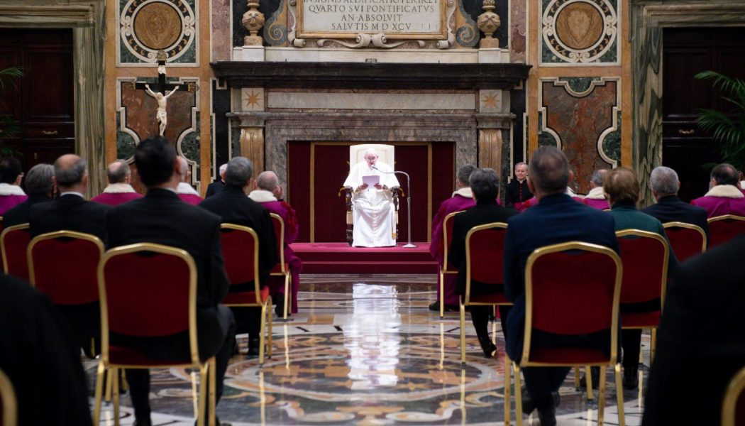 'Monkeys will dance for money' — Pope says money is at the root of opposition to annulment reform…