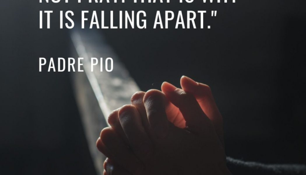 Padre Pio's powerful words of advice when a pandemic hit Italy…