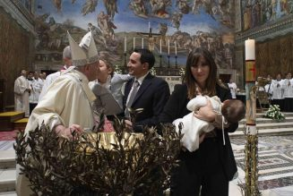 Pandemic forces Pope Francis to cancel annual Baptism ceremony in Sistine Chapel…