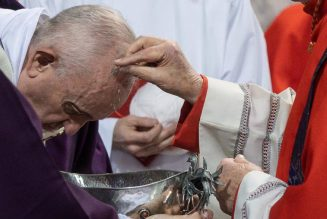 Vatican announces Ash Wednesday modifications to expedite distribution of ashes amid pandemic…
