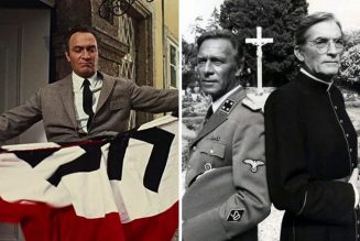 Christopher Plummer, the cross and the swastika…