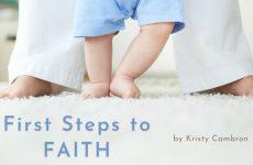 First Steps to Faith