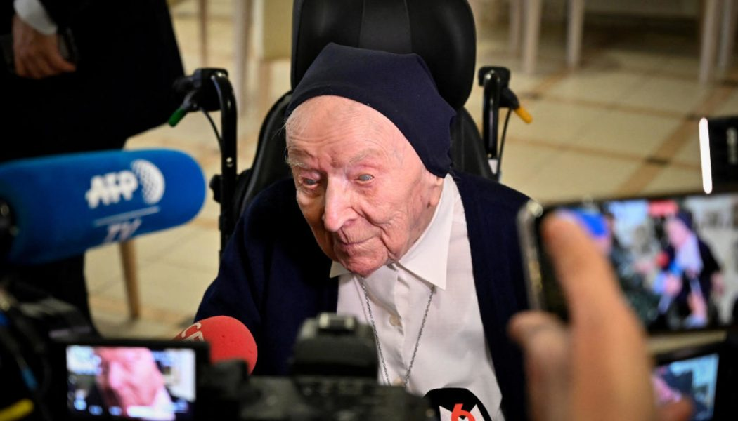 French nun Sister Andre, Europe's oldest living person, beats COVID-19 — just in time for her 117th birthday on Thursday…
