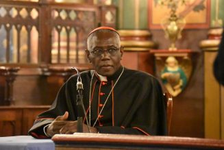Pope Francis accepts resignation of Cardinal Sarah from Congregation for Divine Worship…
