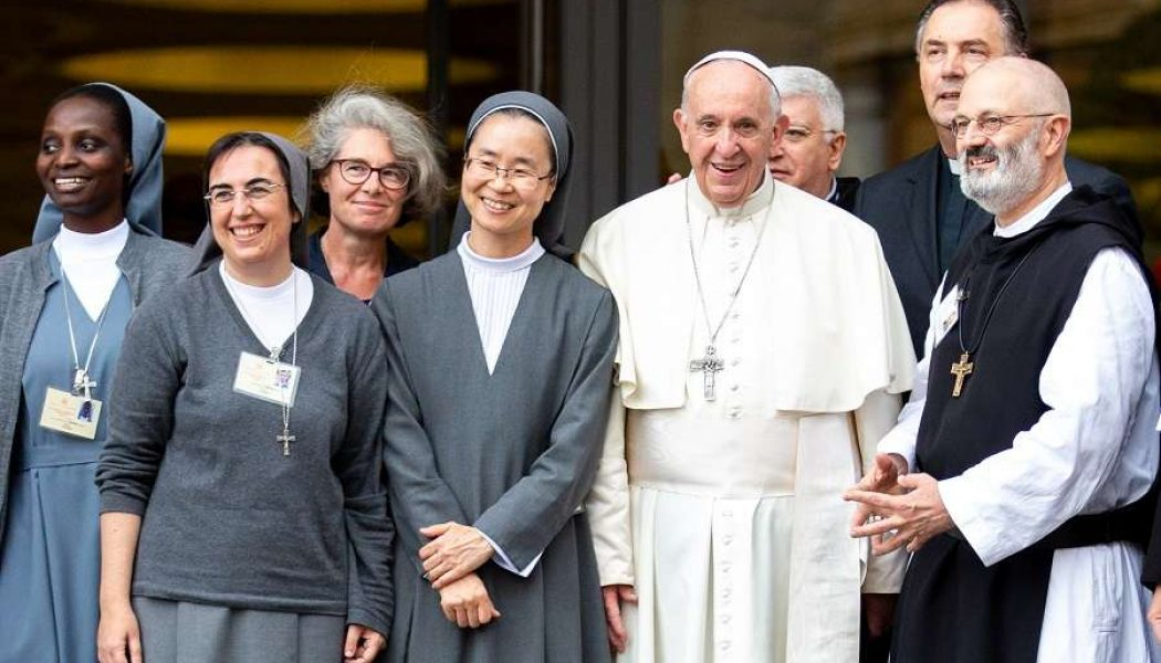 Pope Francis names religious sister, priest as under-secretaries of the Synod of Bishops…