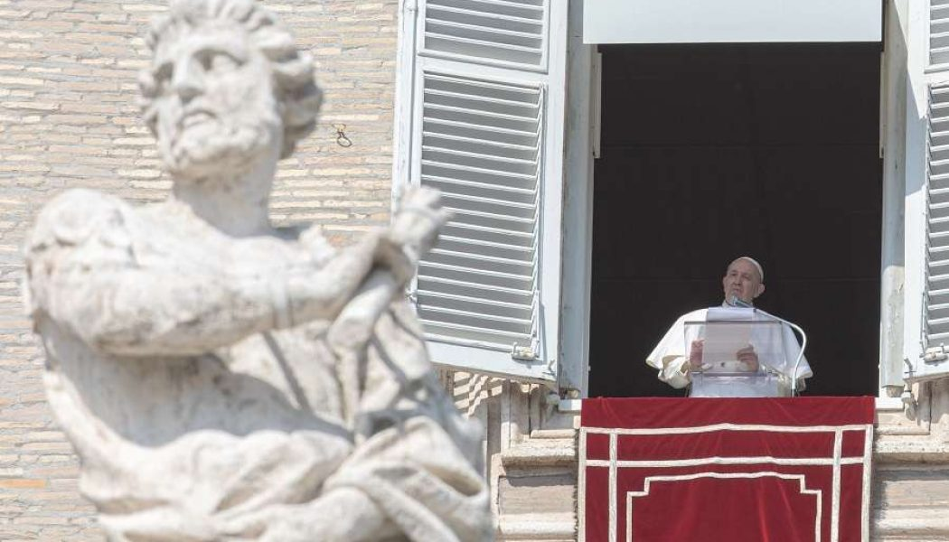 Pope's Sunday Angelus: Christian life 'is a battle against the spirit of evil'…