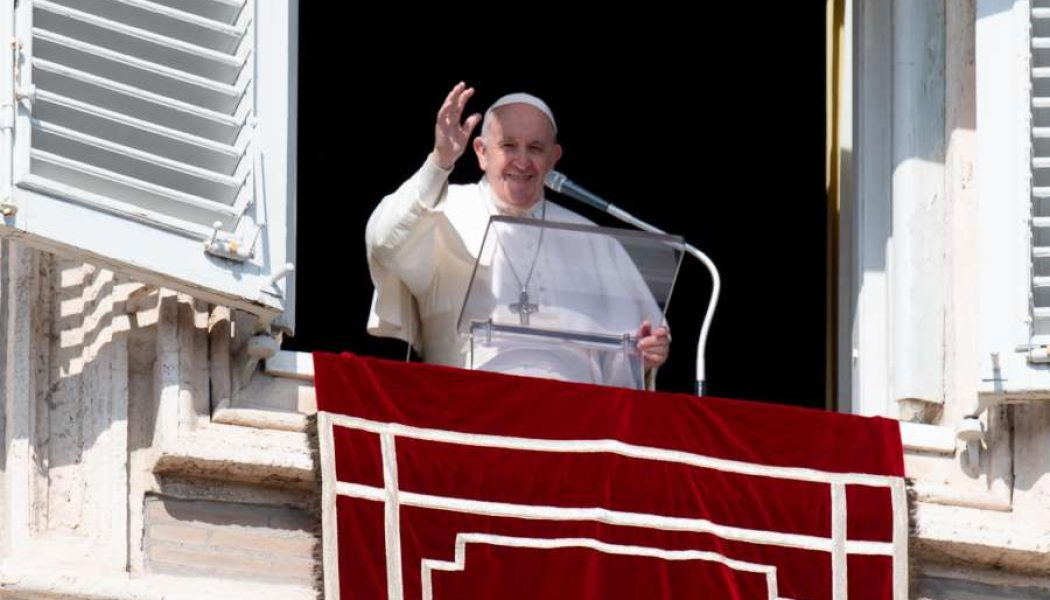 Pope's Sunday Angelus: 'The Lord is risen and does not permit darkness to have the last word'…