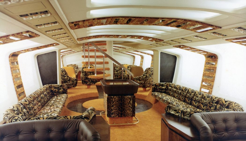 The Boeing 747 is an engineering marvel — and an architectural masterpiece…