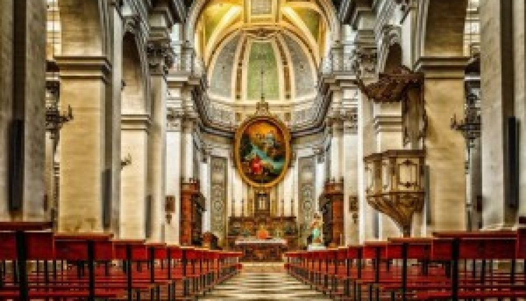 Traditional church architecture is intentionally overawing, and fills the Christian soul with a sense of the sublime…