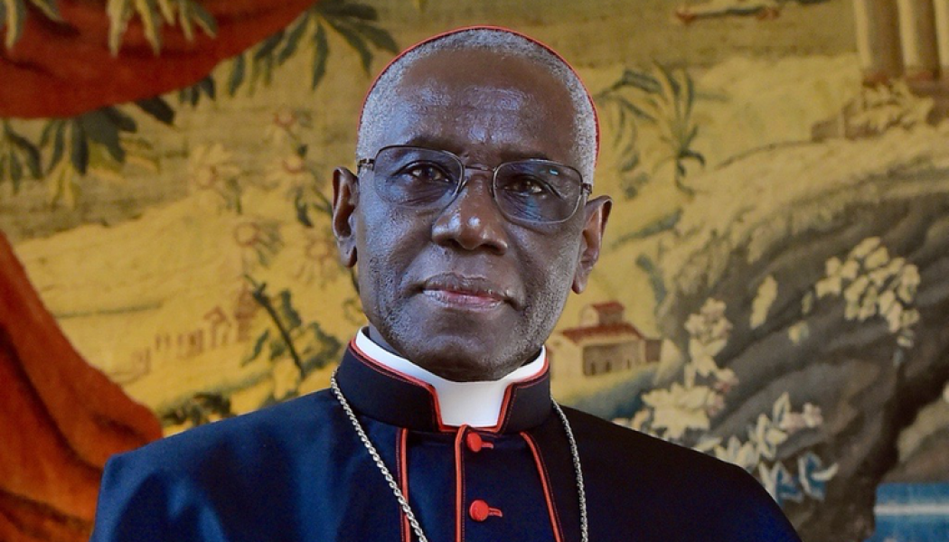 Cardinal Sarah offers first comments since resignation: 'The only thing that counts is to seek God ever more deeply'…