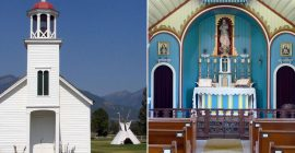 Exactly 310 years after Guadalupe, Our Lady appeared to Indians in the present-day U.S…