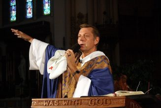 Fr. Pfleger's Chicago parish is withholding $100,000 per month. Why is it so much, and what are the canonical issues?