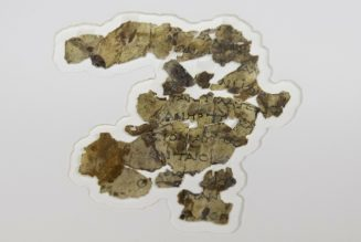 Israeli archaeologists announce discovery of more Dead Sea Scrolls…