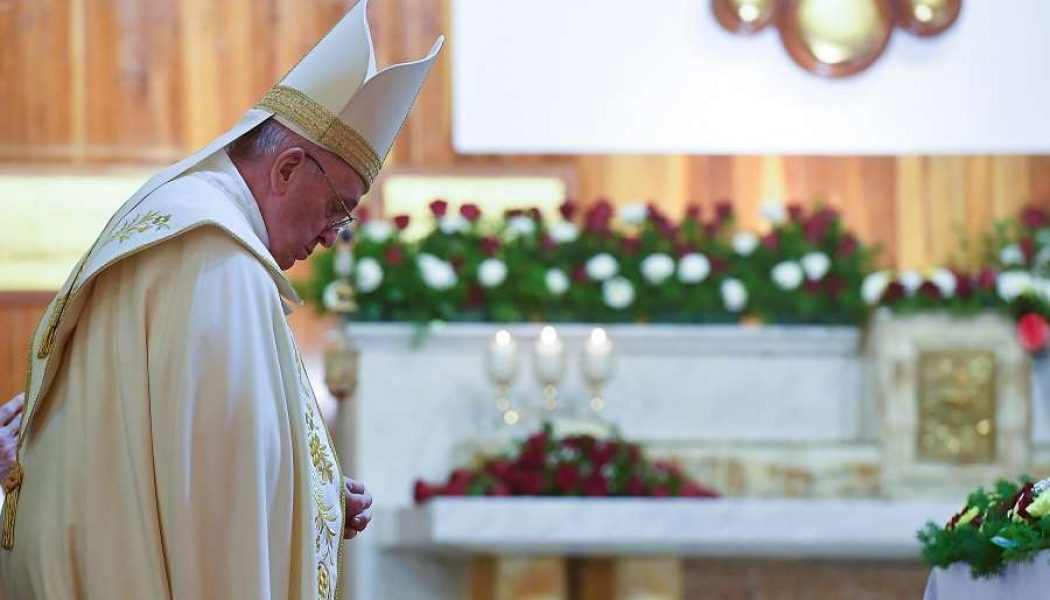 On Day 2 of Iraq trip, Pope tells Chaldean Catholics: 'Love is our strength'…