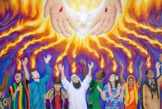 When the Holy Spirit fell on a group of students