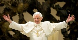 "As clouds of schism loom, Friday marks 94th birthday of Benedict XVI, ""the anchor that kept Germany rooted in Christ""…"