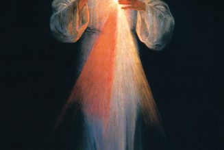 The pierced side of Jesus is a fountain of Divine Mercy…