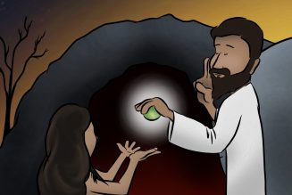 What was born from the tomb on Easter Sunday? What came forth in the resurrection?