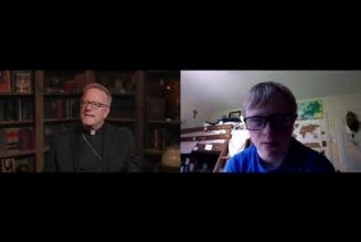 An interview with Bishop Robert Barron about the saints…