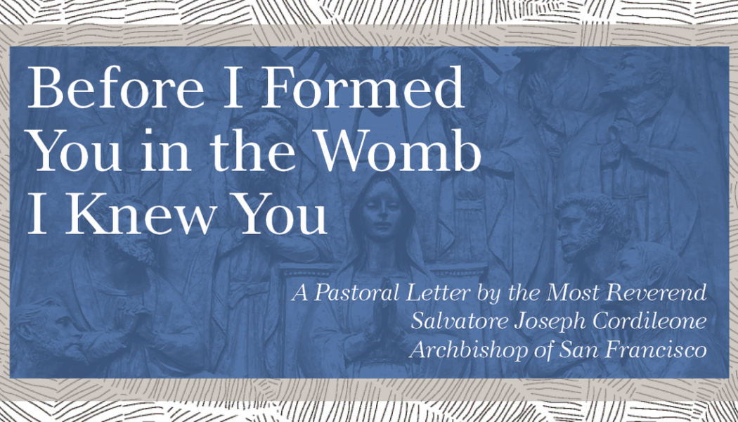 """""""Before I formed you in the womb I knew you""""…"""