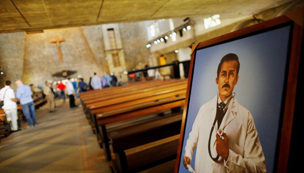 """Venezuela's """"doctor of the poor,"""" José Gregorio Hernández, beatified in austere ceremony…"""
