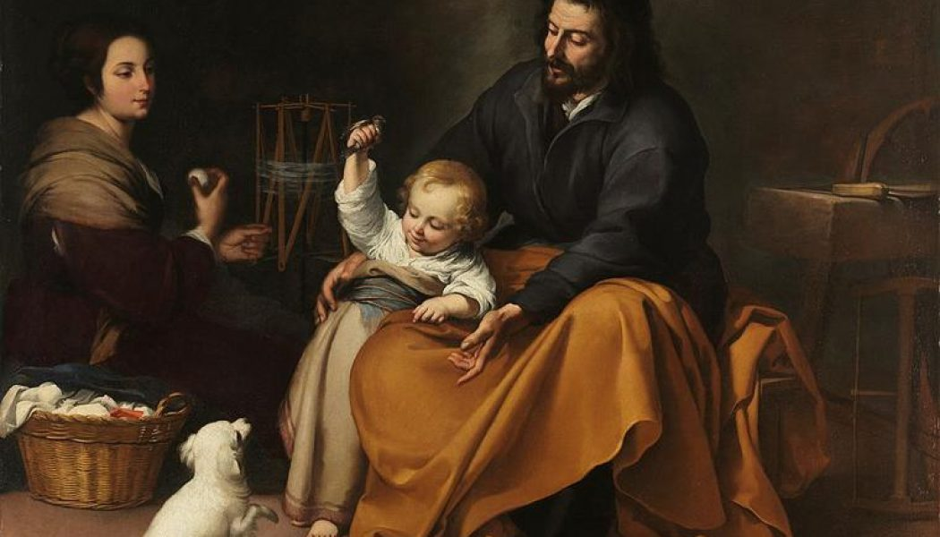 Was St. Joseph old or young? It's an ancient question without a definitive answer…..