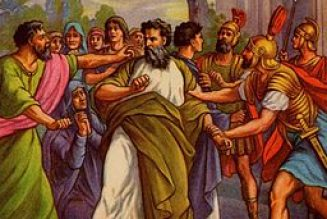 Why did St. Paul get arrested at Philippi?
