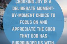 Choosing Joy in the Wilderness