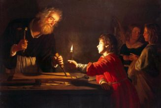 """St. Joseph was the """"earthly shadow of the Heavenly Father""""…"""