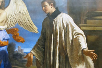The cannon accident that helped Aloysius Gonzaga become a saint…
