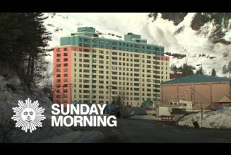 The entire town of Whitter, Alaska, lives in a single building…