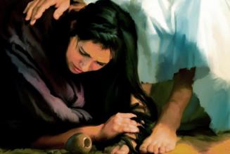 Break open the bottle: giving gifts like the Magdalene…