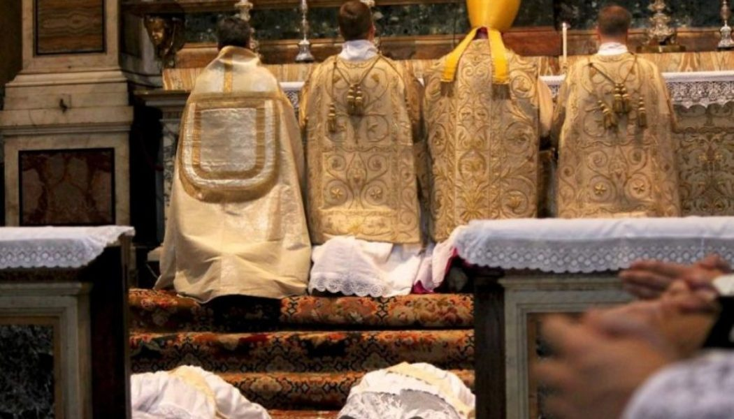 FSSP Says It Is 'Deeply Saddened' by Latin Mass Restrictions…