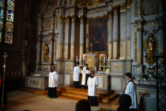 Here's an explainer from The Pillar about the changes to the Traditional Latin Mass…