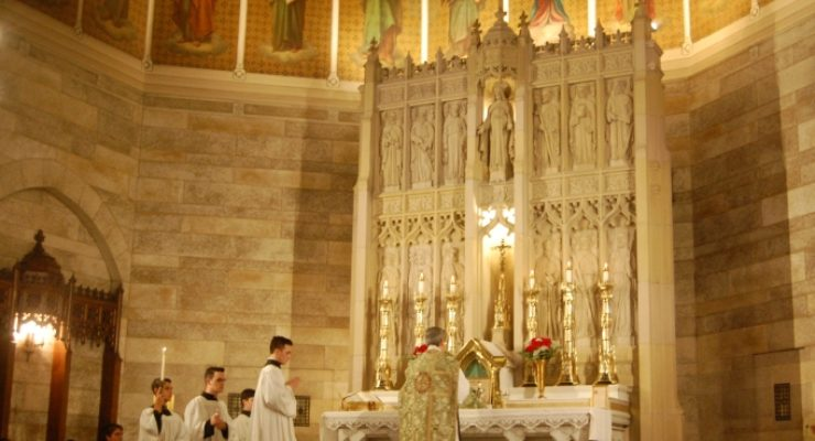 Let's study the impact of the Traditional Latin Mass…