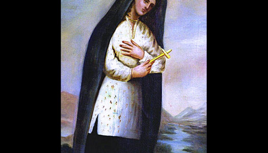 St. Kateri Tekakwitha, the Lily of the Mohawks…