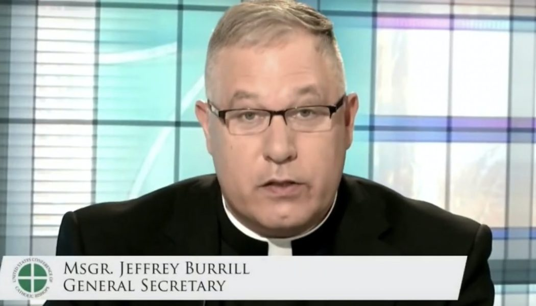 USCCB general secretary Msgr. Jeffrey Burrill resigns after sexual misconduct allegations based on smartphone app data…