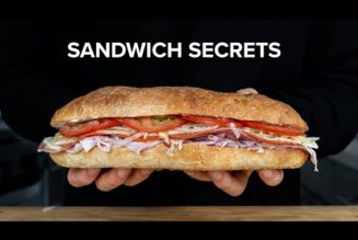 Why are deli subs better than homemade ones? Here's the secret, and here are 6 sandwich tips to help you make 'em right…..