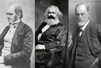 Darwin, Marx, Freud — Three men who have diminished the notion of the human being…