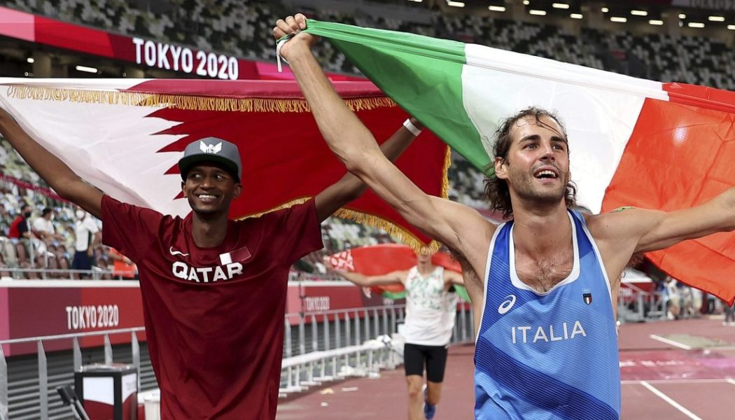 How two friends decided to share Olympic gold in Tokyo…
