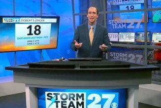 Ohio meteorologist Craig Ziobert leaves TV to become a priest…