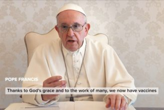Pope Francis and Ad Council release video promoting COVID-19 vaccination in the Americas…