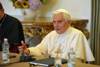 Benedict XVI warns: Legalization of same-sex marriage is a 'distortion of conscience'…