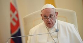 In meeting with Jesuits, Pope pillories 'large Catholic TV channel,' says 'some people wanted me to die' amid health problems…