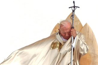 Pope St. John Paul II brought God into my suffering, just when I need Him most…